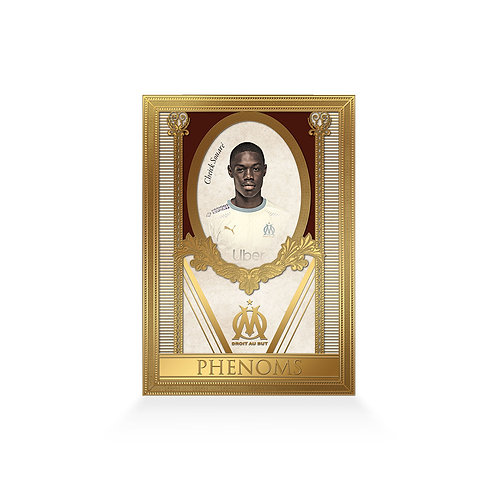 Cheick Souare Phenoms 24ct Gold Plated