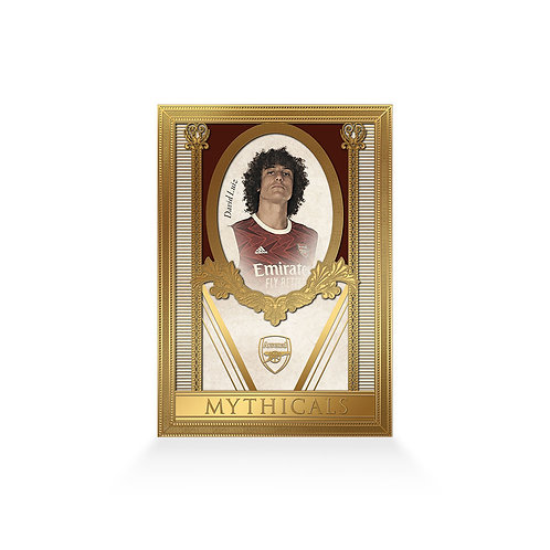 David Luiz Mythicals 24ct Gold Plated