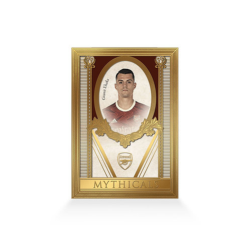 Granit Xhaka Mythicals 24ct Gold Plated