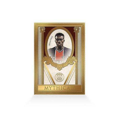 Idrissa Gueye Mythicals Gold Plated