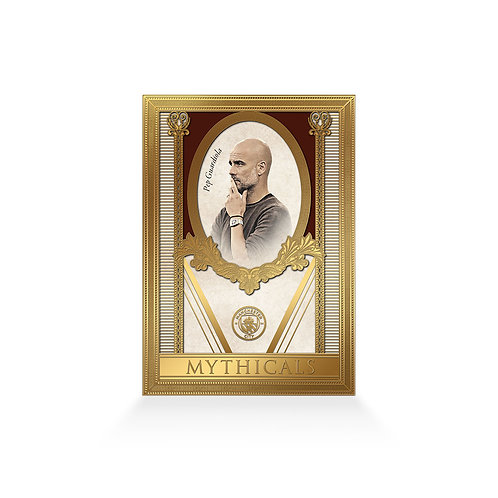 Pep Guardiola Mythicals 24ct Gold Plated