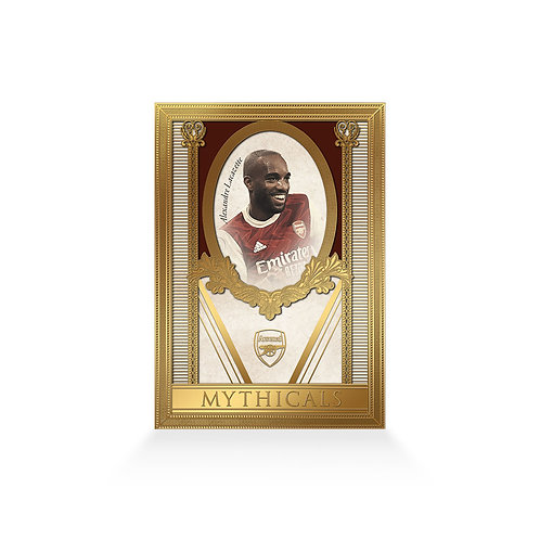 Alexandre Lacazette Mythicals 24ct Gold Plated