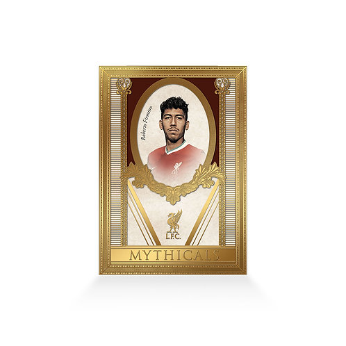 Roberto Firmino Mythicals 24ct Gold Plated