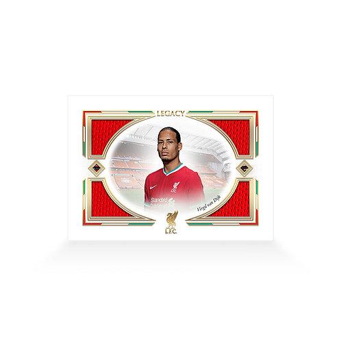 Virgil van Dijk Legacy Memorabilia