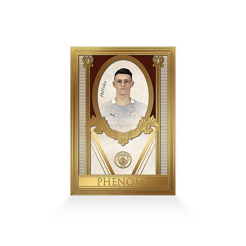 Phil Foden Phenoms 24ct Gold Plated Framed