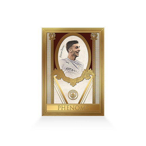 Ferran Torres Phenoms 24ct Gold Plated Framed