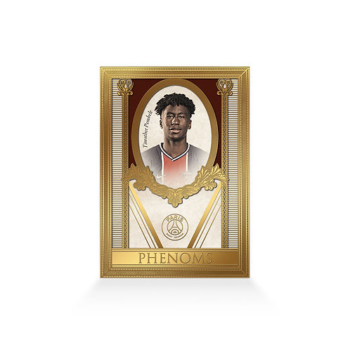 Timothee Pembele Phenoms 24ct Gold Plated
