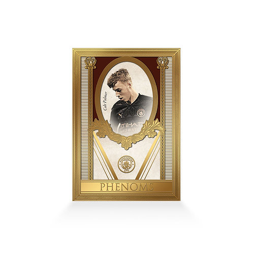 Cole Palmer Phenoms 24ct Gold Plated Framed