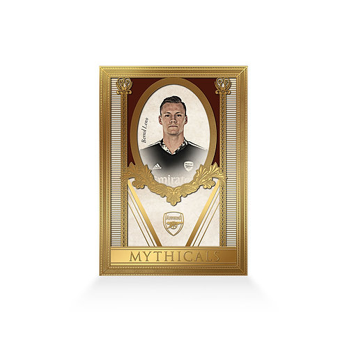 Bernd Leno Mythicals 24ct Gold Plated