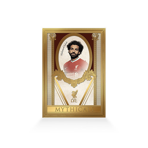 Mohamed Salah Mythicals 24ct Gold Plated