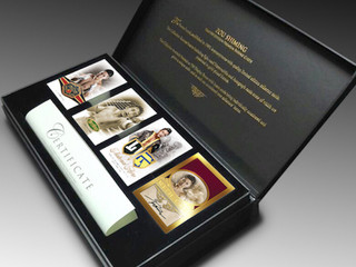 ZOU SHIMING Premium Boxing Card Collection (2017) - Limited Edition of only 750 Presentation Boxes