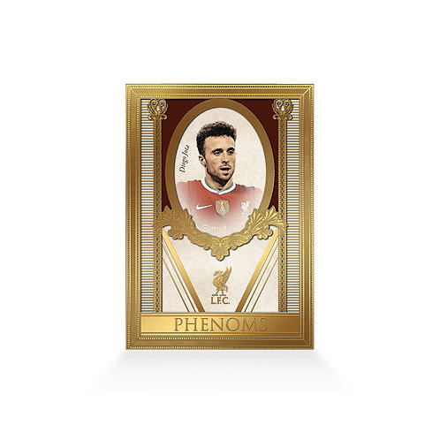 Diogo Jota Phenoms 24ct Gold Plated