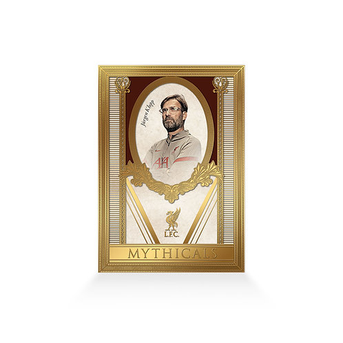 Jurgen Klopp Mythicals 24ct Gold Plated