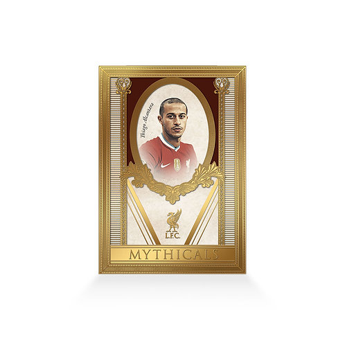Thiago Alcântara Mythicals 24ct Gold Plated