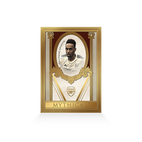 Pierre Emerick-Aubameyang Mythicals 24ct Gold Plated