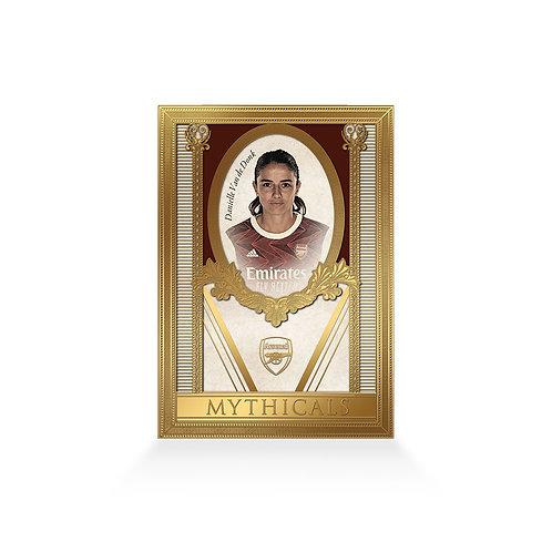 Daniëlle van de Donk Mythicals 24ct Gold Plated