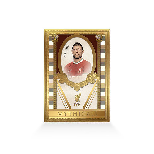 James Milner Mythicals 24ct Gold Plated