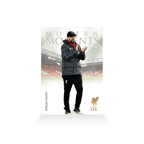 Jürgen Klopp Moments Base Card