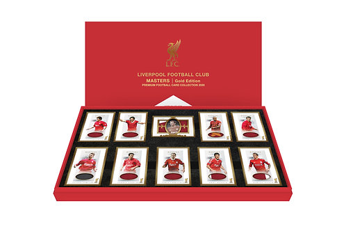 LIVERPOOL MASTERS Gold Edition II - Presentation Boxed Set