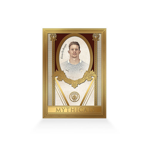 Kevin De Bruyne Mythicals 24ct Gold Plated