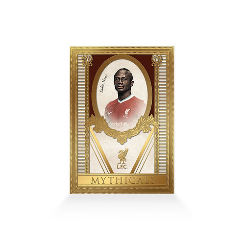 Sadio Mane Mythicals 24ct Gold Plated