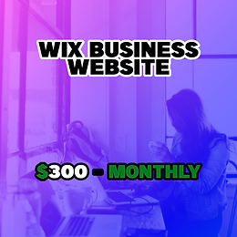 Wix Business Website