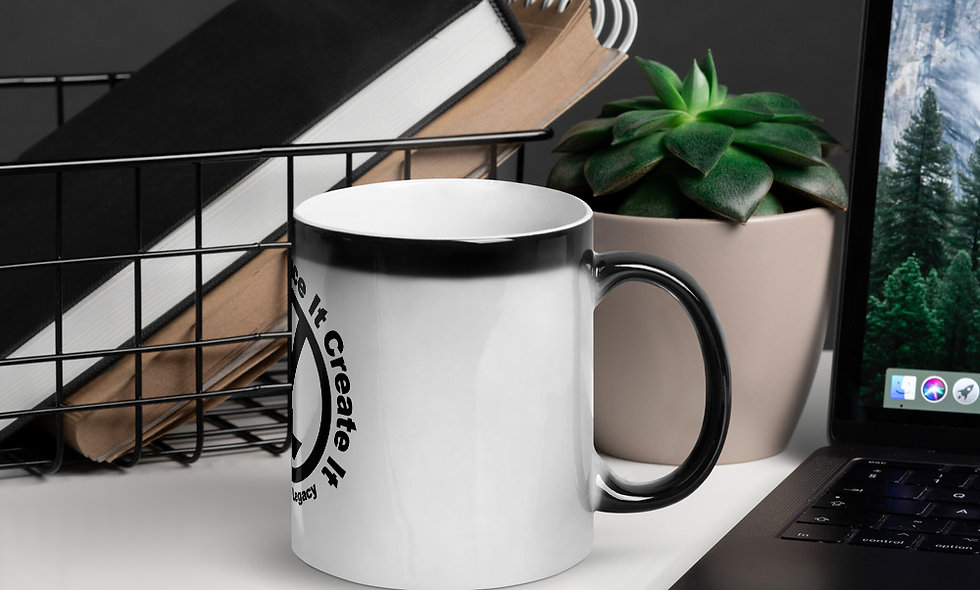 OYL Logo Glossy Magic Mug