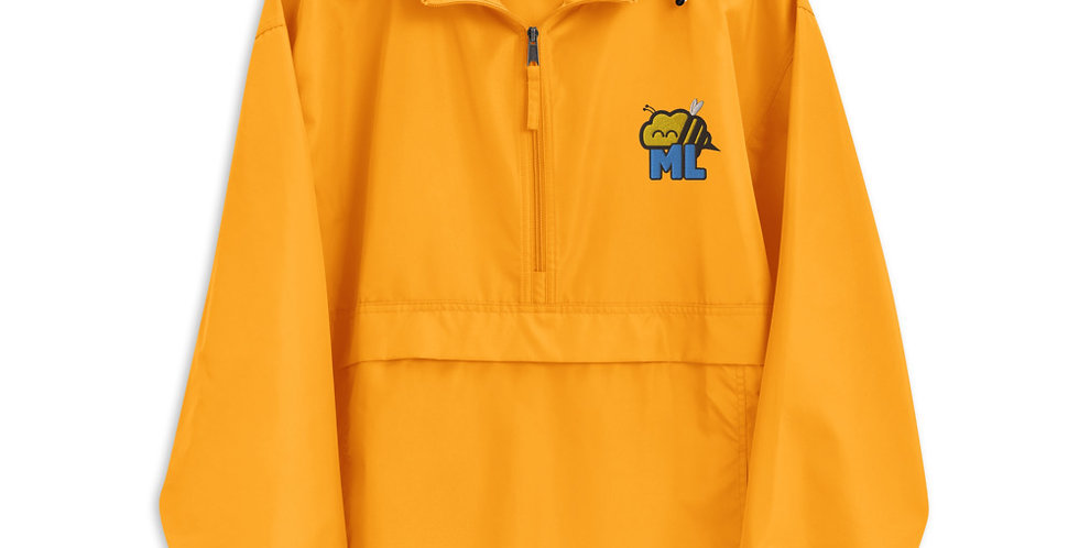 ML Bee Brain Embroidered Champion Packable Jacket
