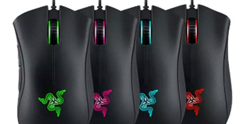 Razer DeathAdder Chroma Game Mouse-USB Wired 5 Buttons Optical Sensor Mouse Raze