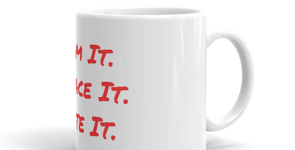OYL Tag line Mug
