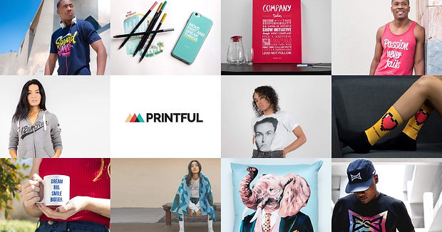 Join Printful for free and Start your own store today!
