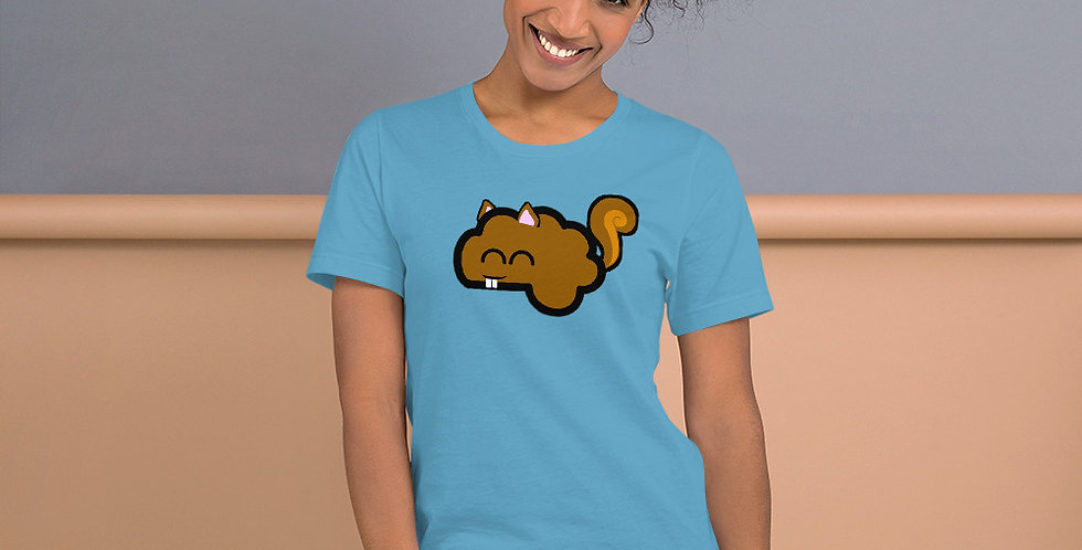Squirrel Brain Short-Sleeve Unisex T-Shirt