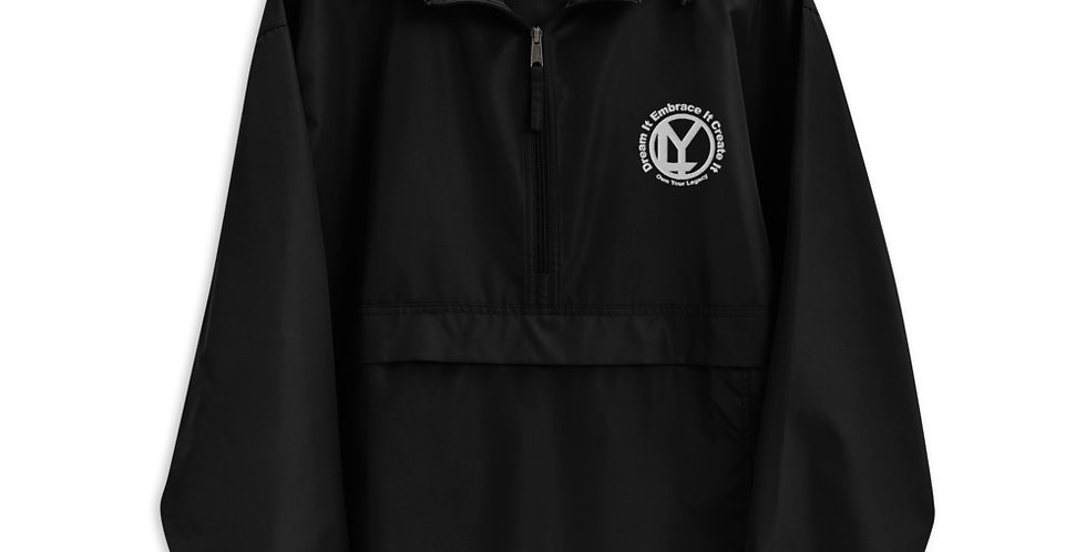 OYL Embroidered Champion Packable Jacket