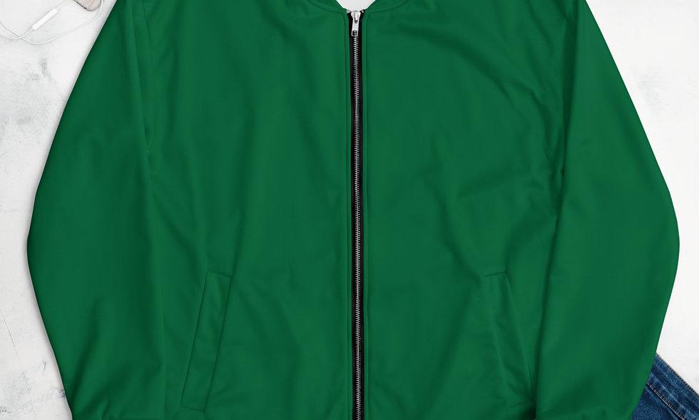 Mr.Martin Dark Green Bomber Jacket