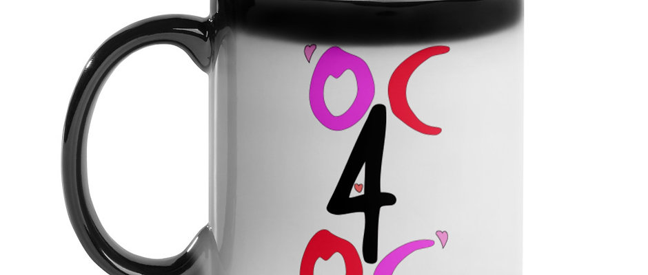 OC4OC Valentine Glossy Magic Mug
