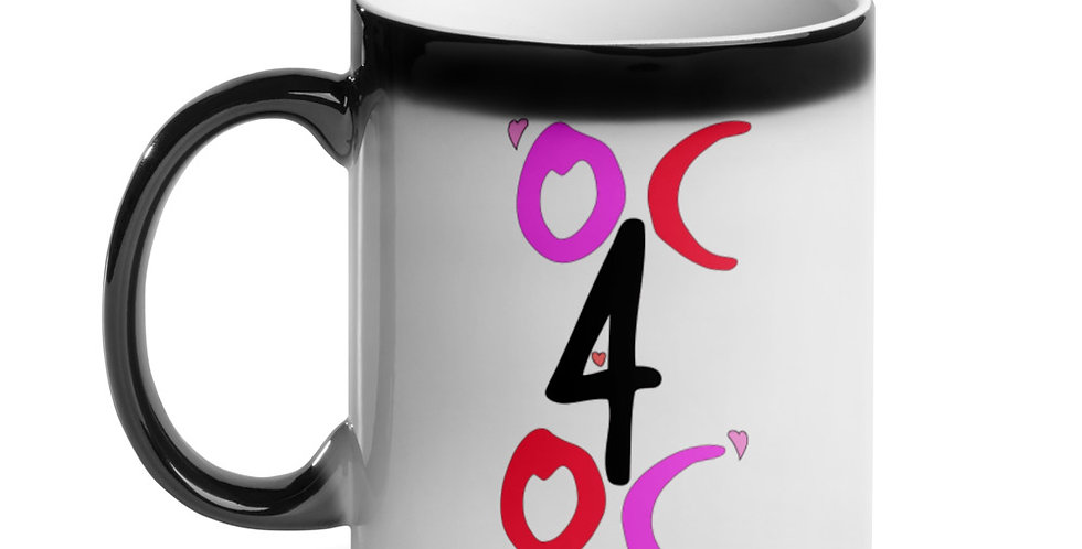 OC4OC Valentine Glossy Magic Mug
