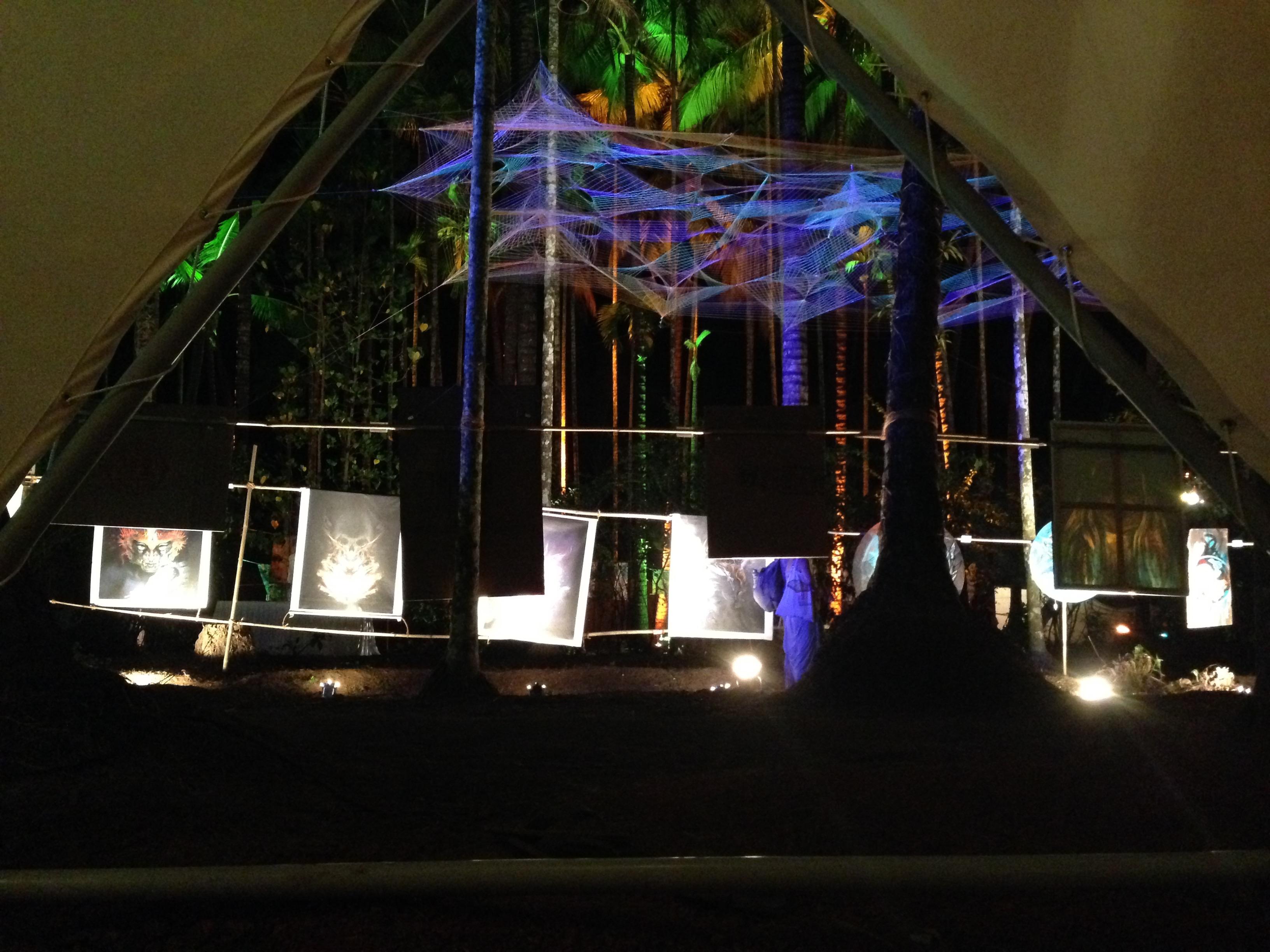 Vasundhara Gallery from Temple