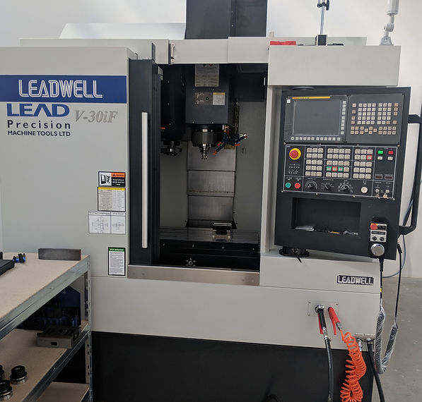 Nerc Precision Engineering Limited Bristol Leadwell CNC V30i Milling