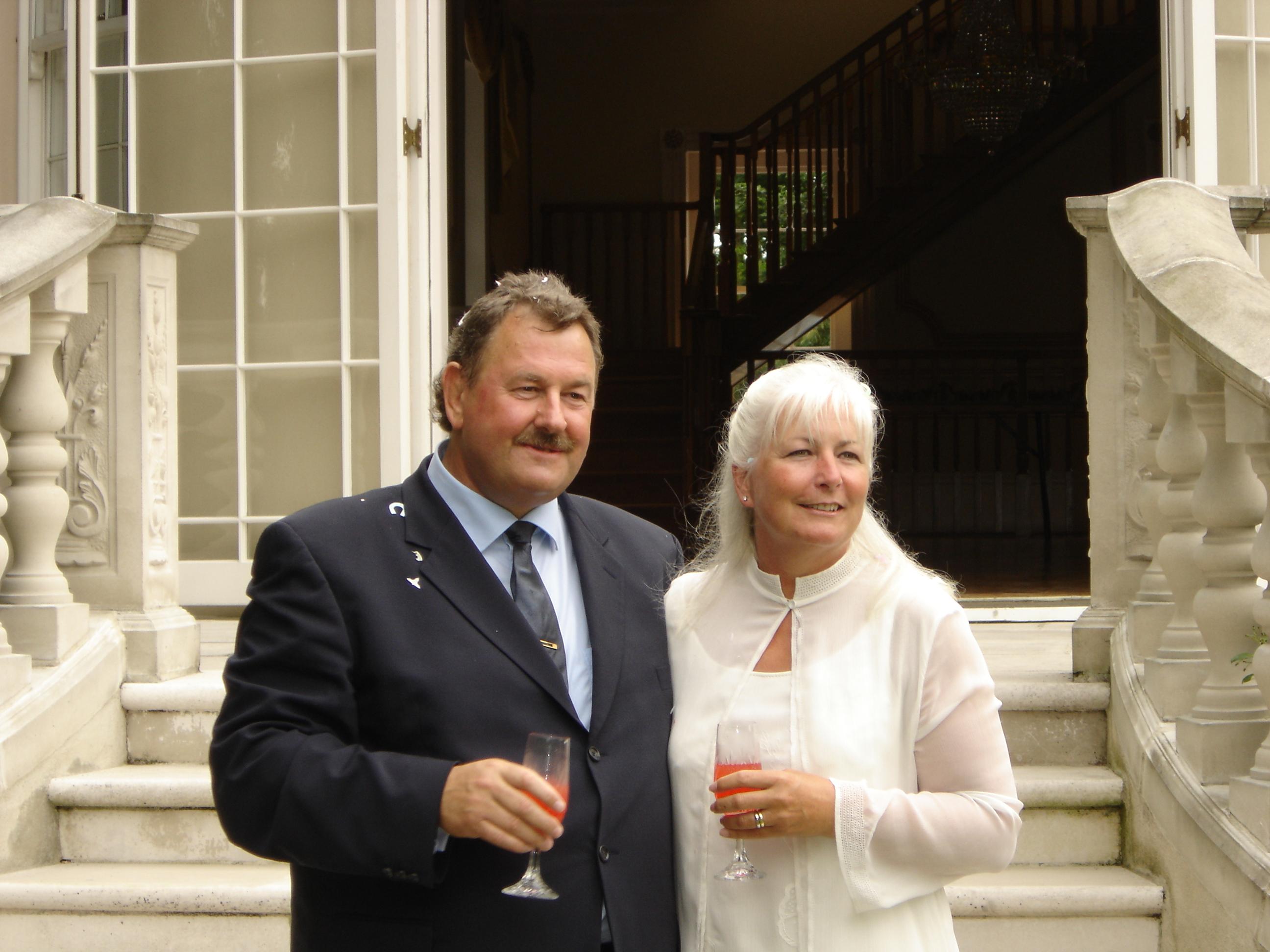 Geraldine & David