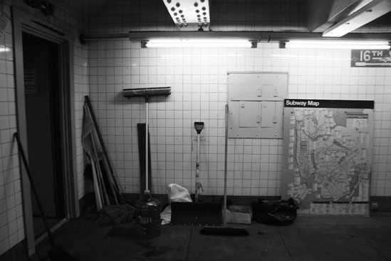 SUBWAY CLEAN-UP?