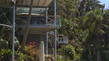 Elevated deck creates amazing outlook