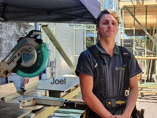 Meet our first year apprentices Joel & Logan