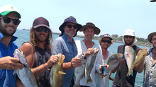 End of year fishing trip brings smiles all round