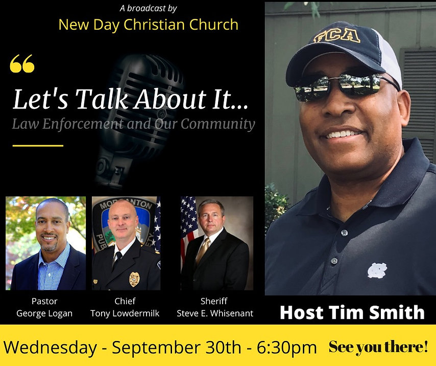 Law Enforcement and Our Community 09-25-