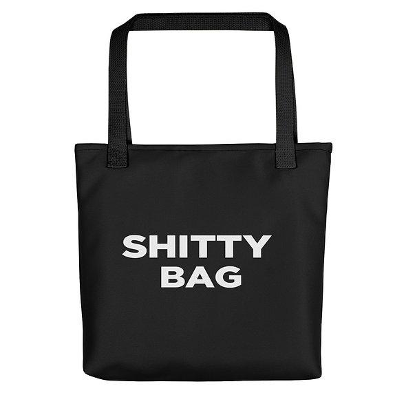 Shitty Tote Bag (Black)