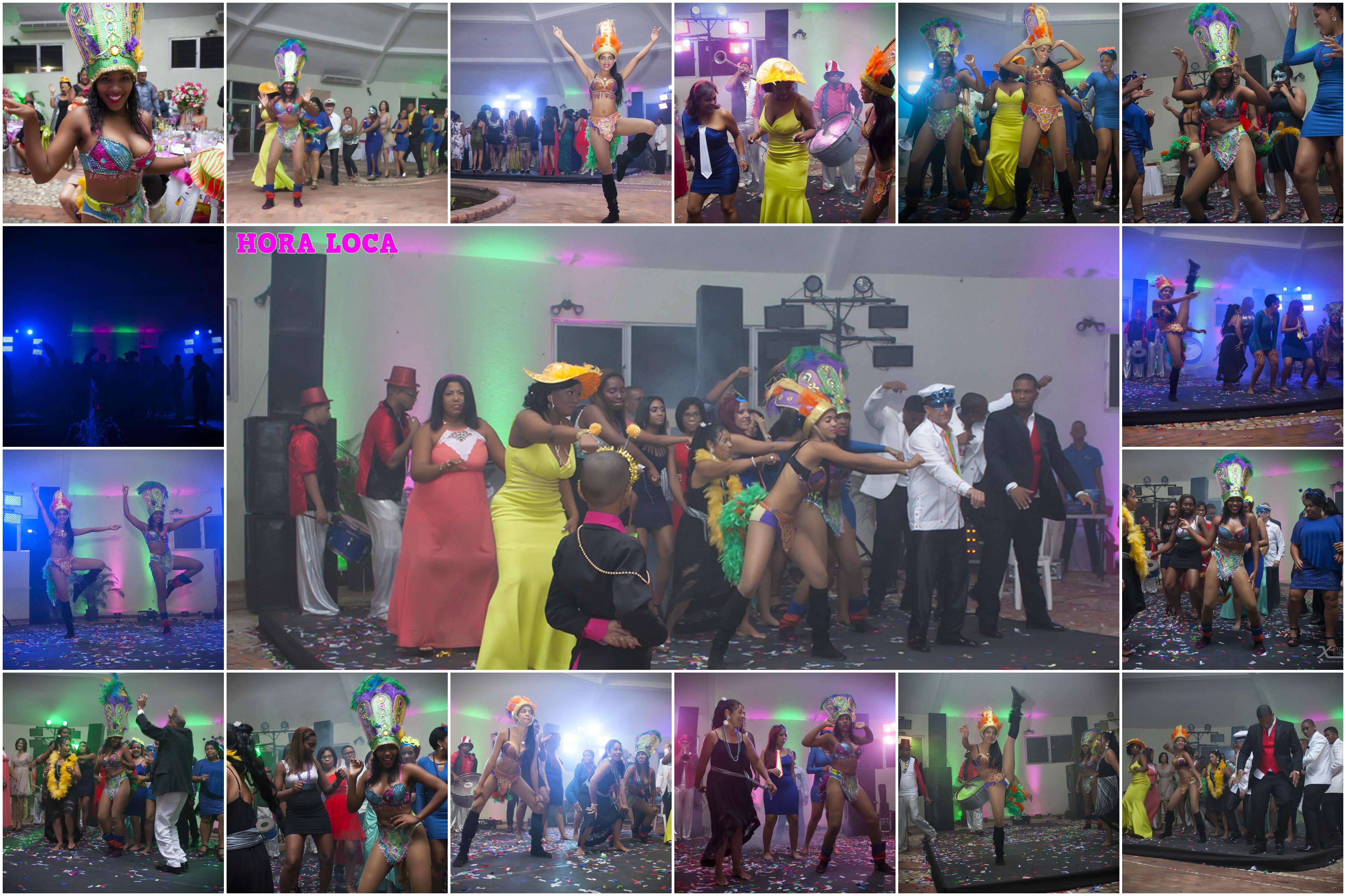 www.Xproevents.com - Collage Hora loca boda Juan & Glenny con Samba y percusion