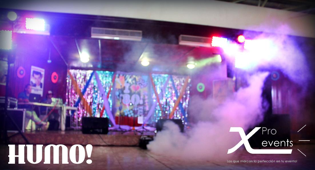 X Pro events  - 809-846-3784 - Llenamos de humo cualquier espacio con nuestra AR