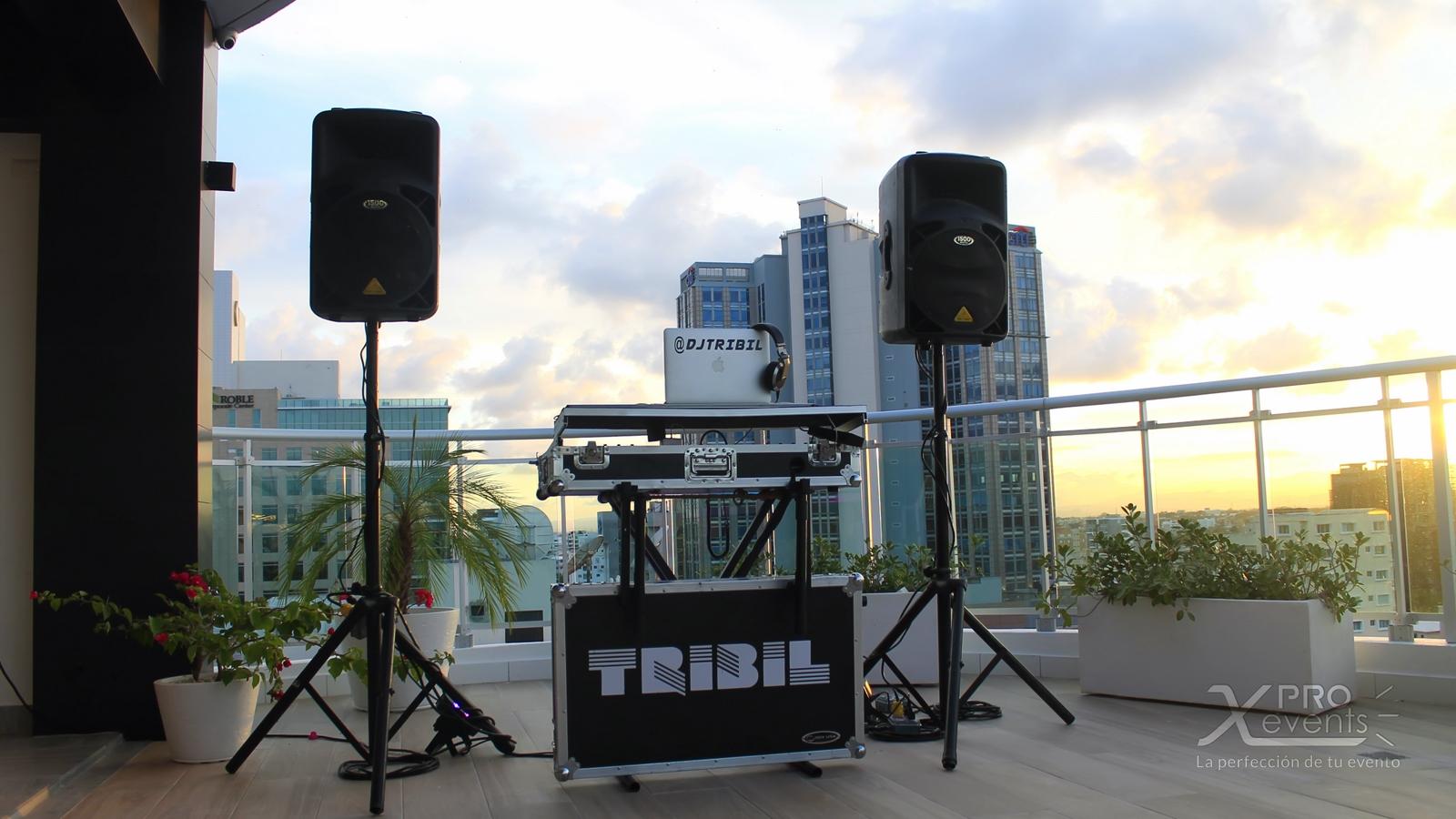 Setup para Dj Tribil - X Pro Events [160