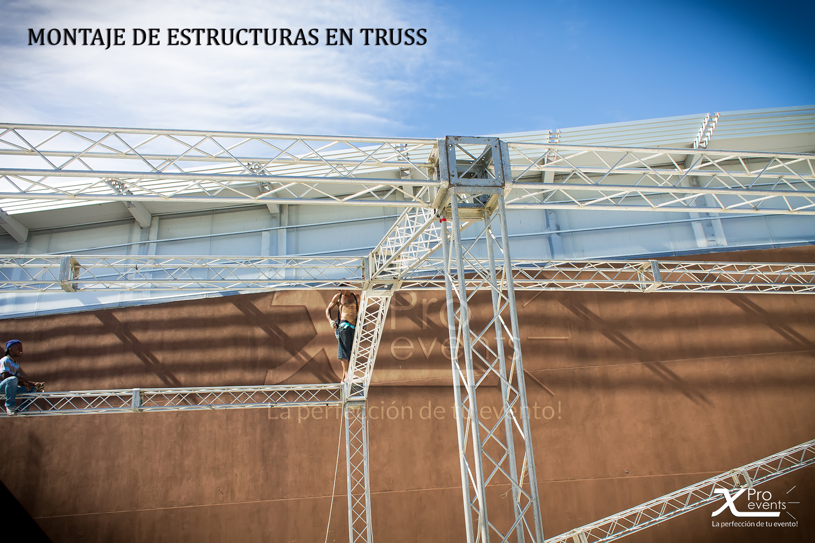 X Pro events - Renta de truss para eventos 809-846-3784