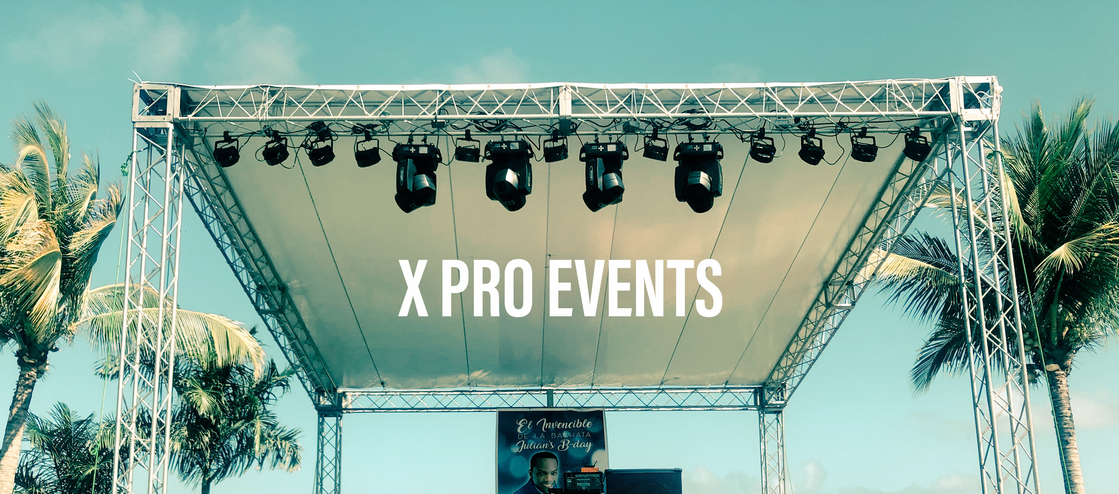 Techo truss - X Pro Events